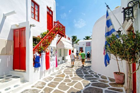 holiday to greek islands four